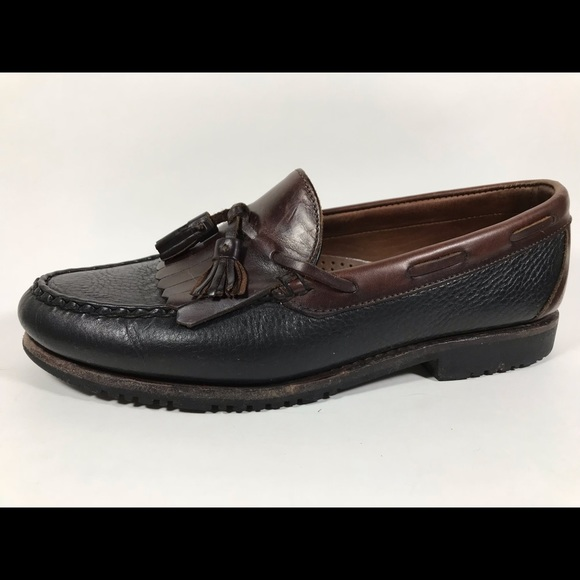 Allen Edmonds Other - Allen Edmonds Nashua Black Kiltie Loafers Men's 10